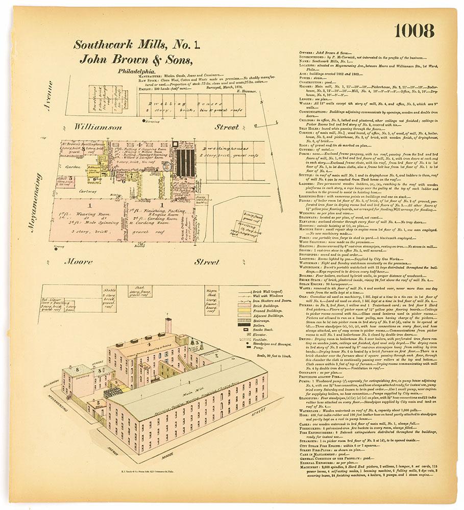 Hexamer General Surveys, Volume 11, Plate 1008