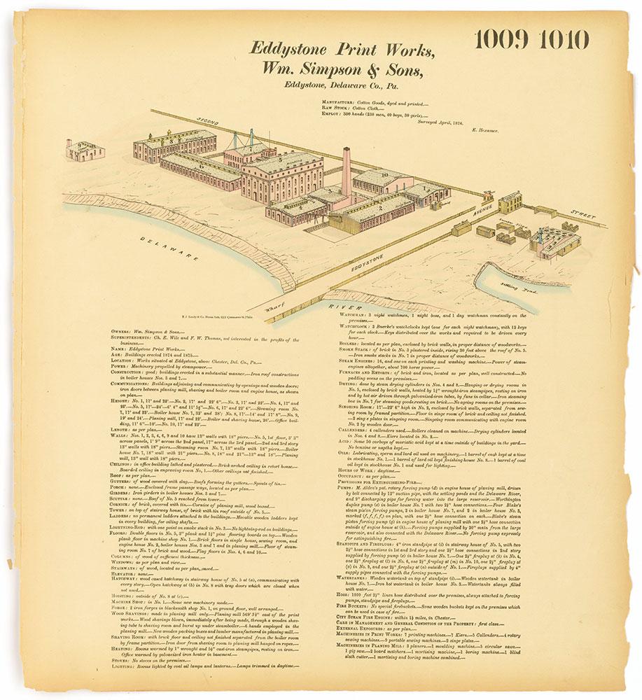 Hexamer General Surveys, Volume 11, Plate 1010