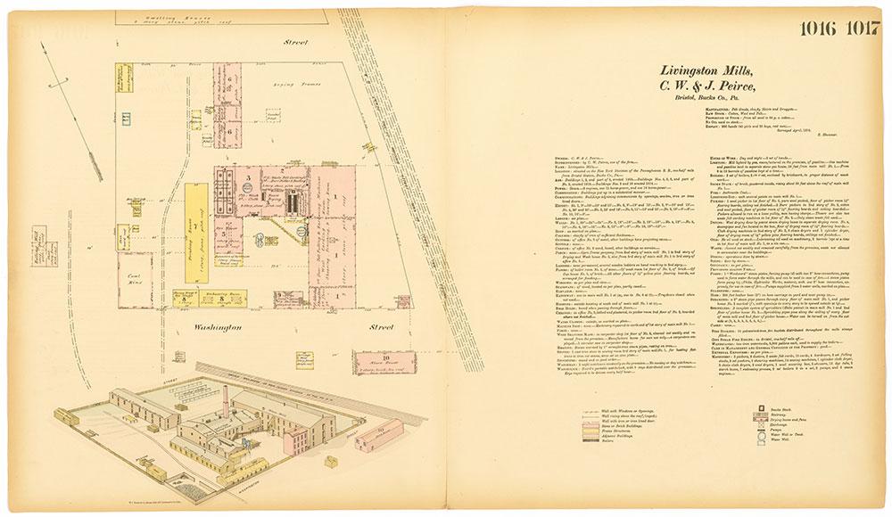 Hexamer General Surveys, Volume 11, Plates 1016-1017
