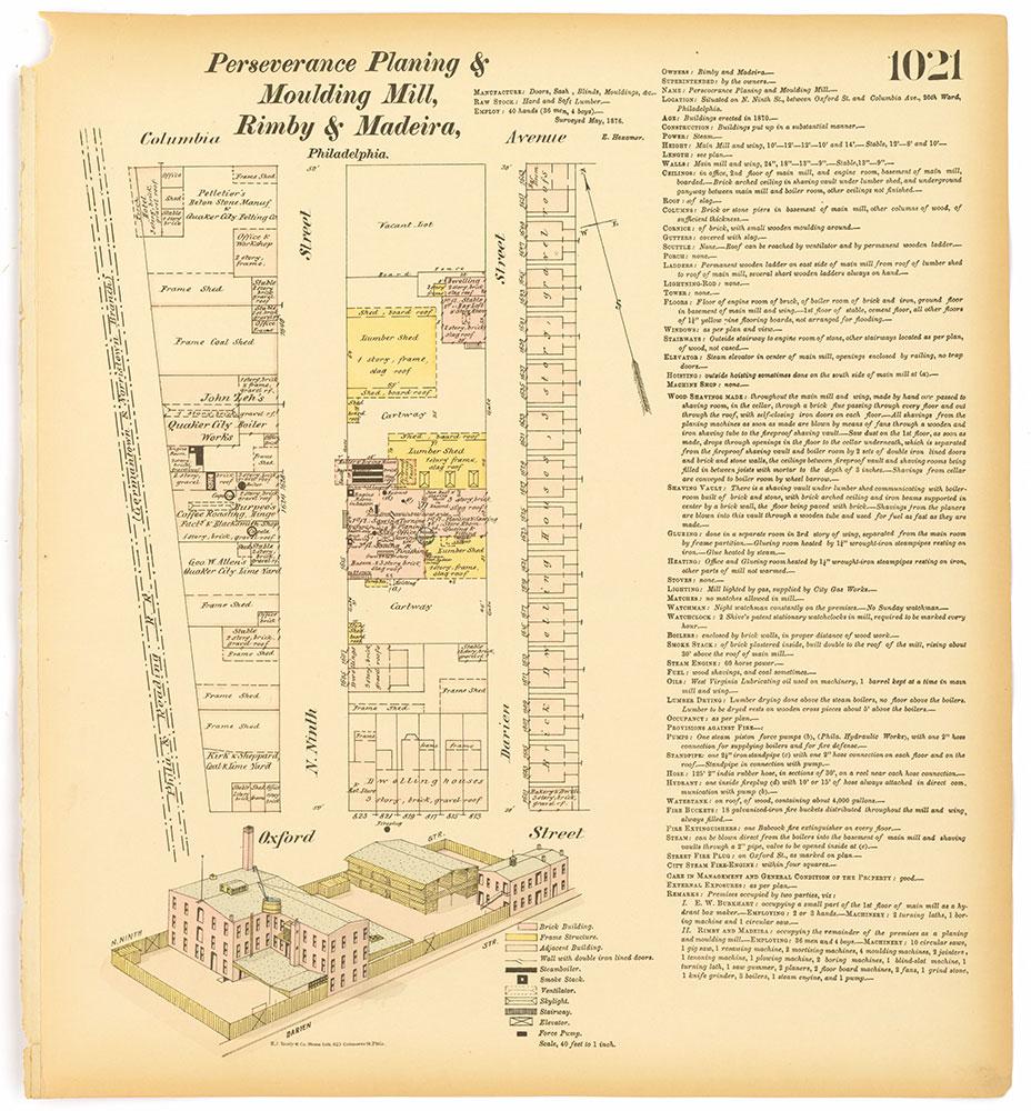 Hexamer General Surveys, Volume 11, Plate 1021