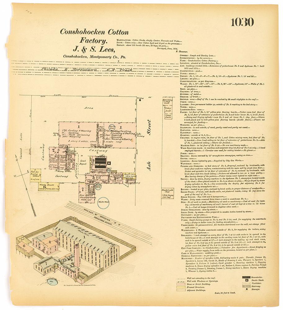 Hexamer General Surveys, Volume 11, Plate 1030