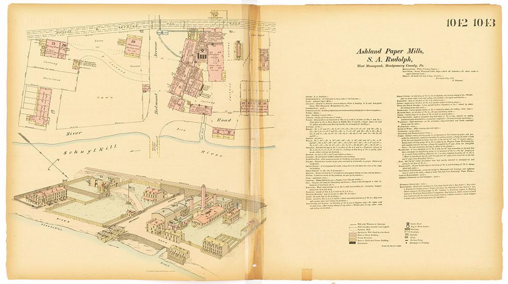 Hexamer General Surveys, Volume 11, Plates 1042-1043