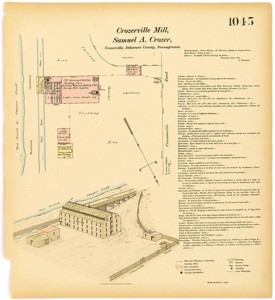 Hexamer General Surveys, Volume 11, Plate 1045