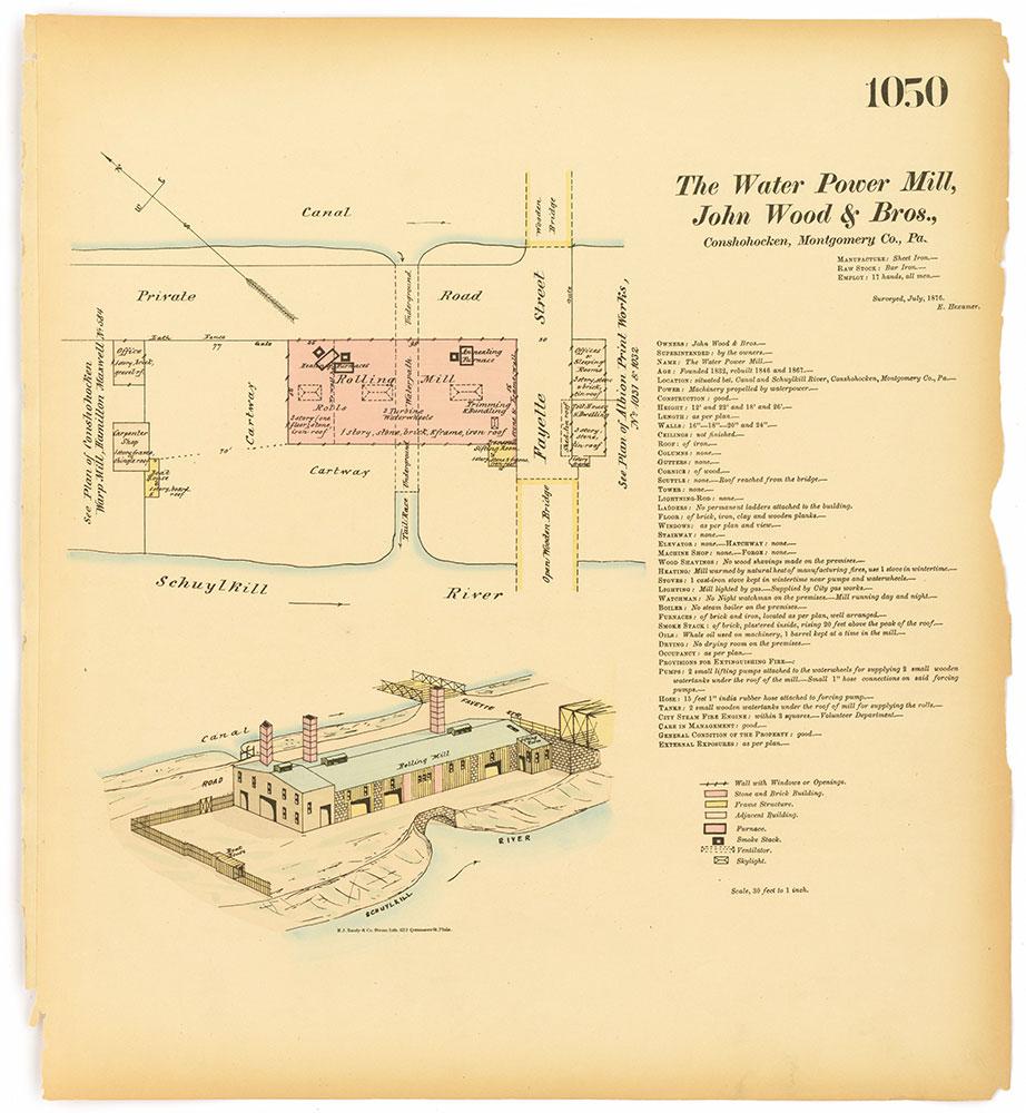 Hexamer General Surveys, Volume 11, Plate 1050