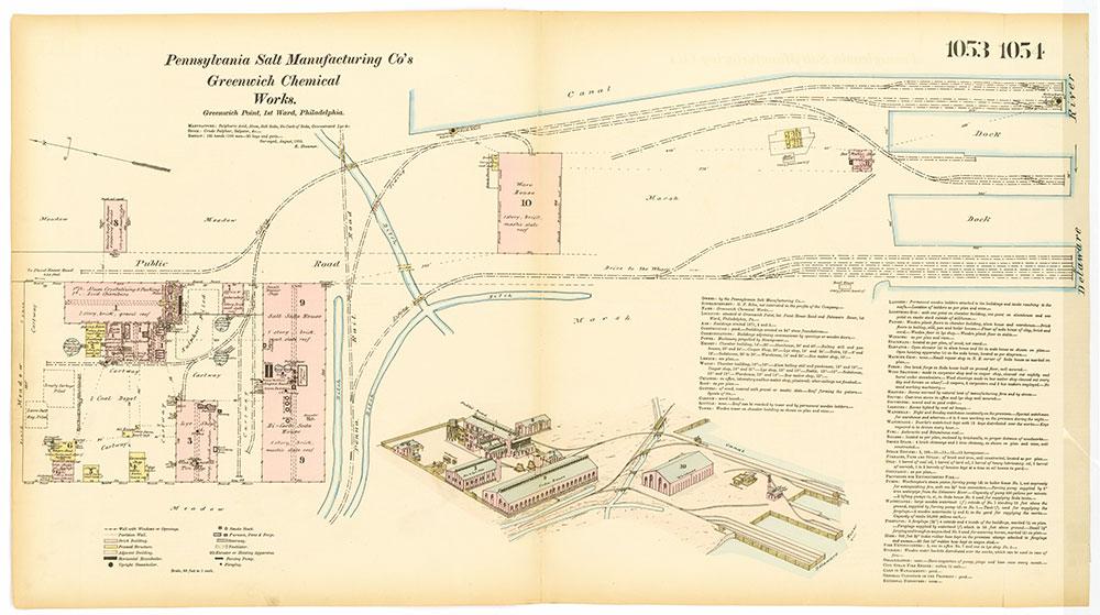 Hexamer General Surveys, Volume 11, Plates 1053-1054