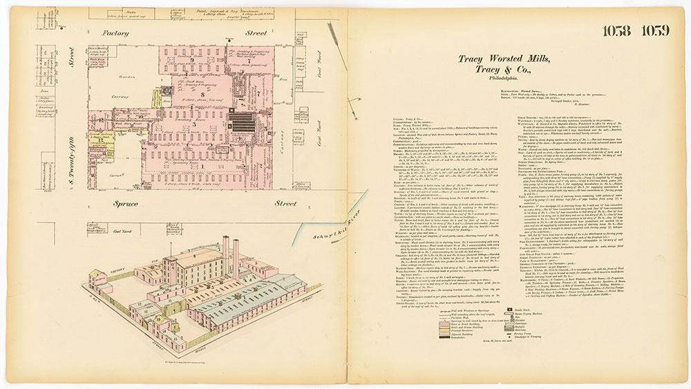 Hexamer General Surveys, Volume 12, Plates 1058-1059