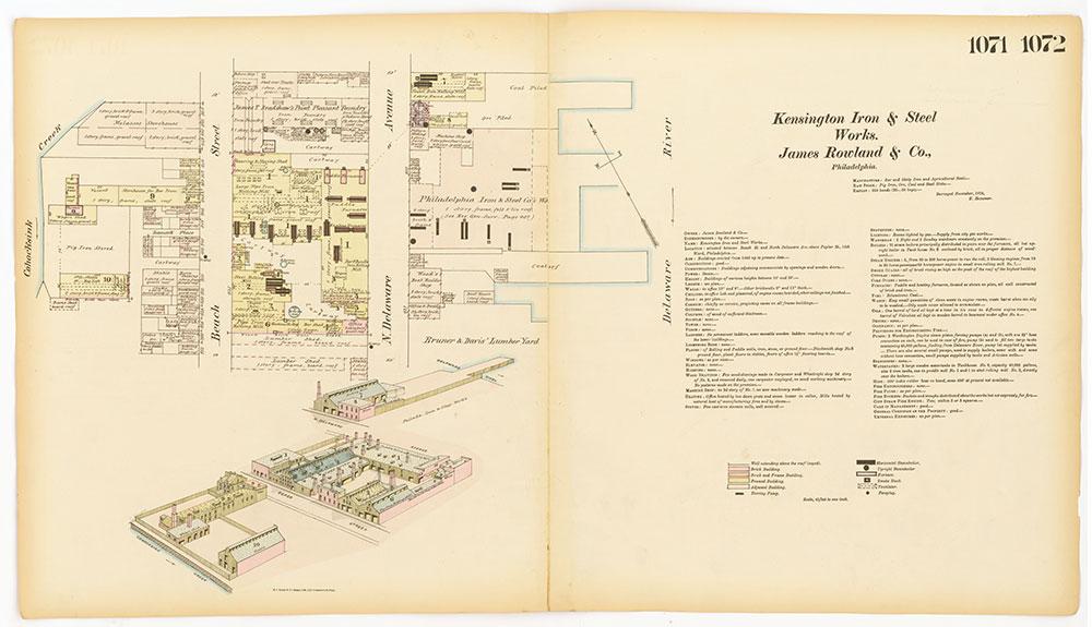 Hexamer General Surveys, Volume 12, Plates 1071-1072