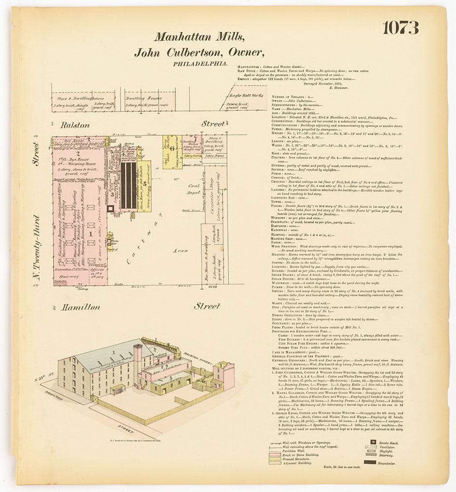 Hexamer General Surveys, Volume 12, Plate 1073