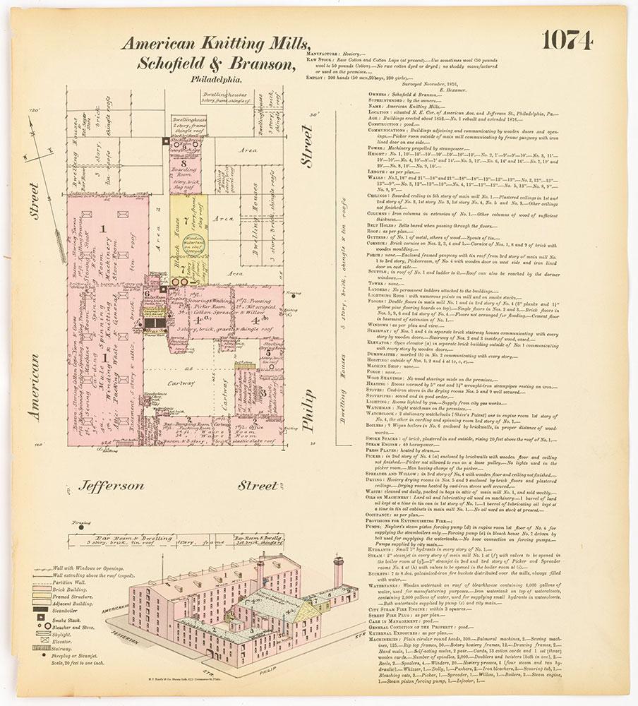 Hexamer General Surveys, Volume 12, Plate 1074