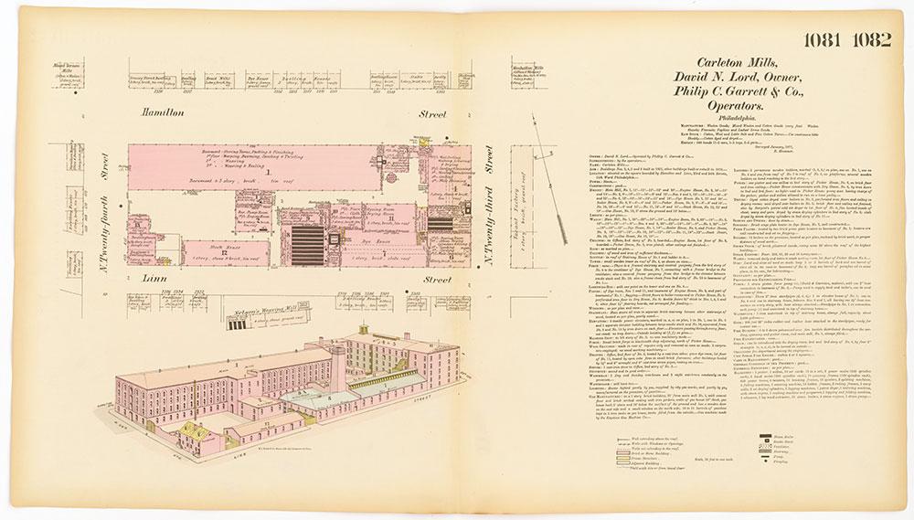 Hexamer General Surveys, Volume 12, Plates 1081-1082