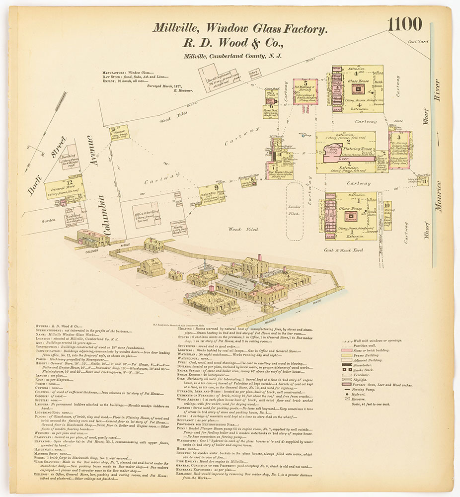 Hexamer General Surveys, Volume 12, Plate 1100