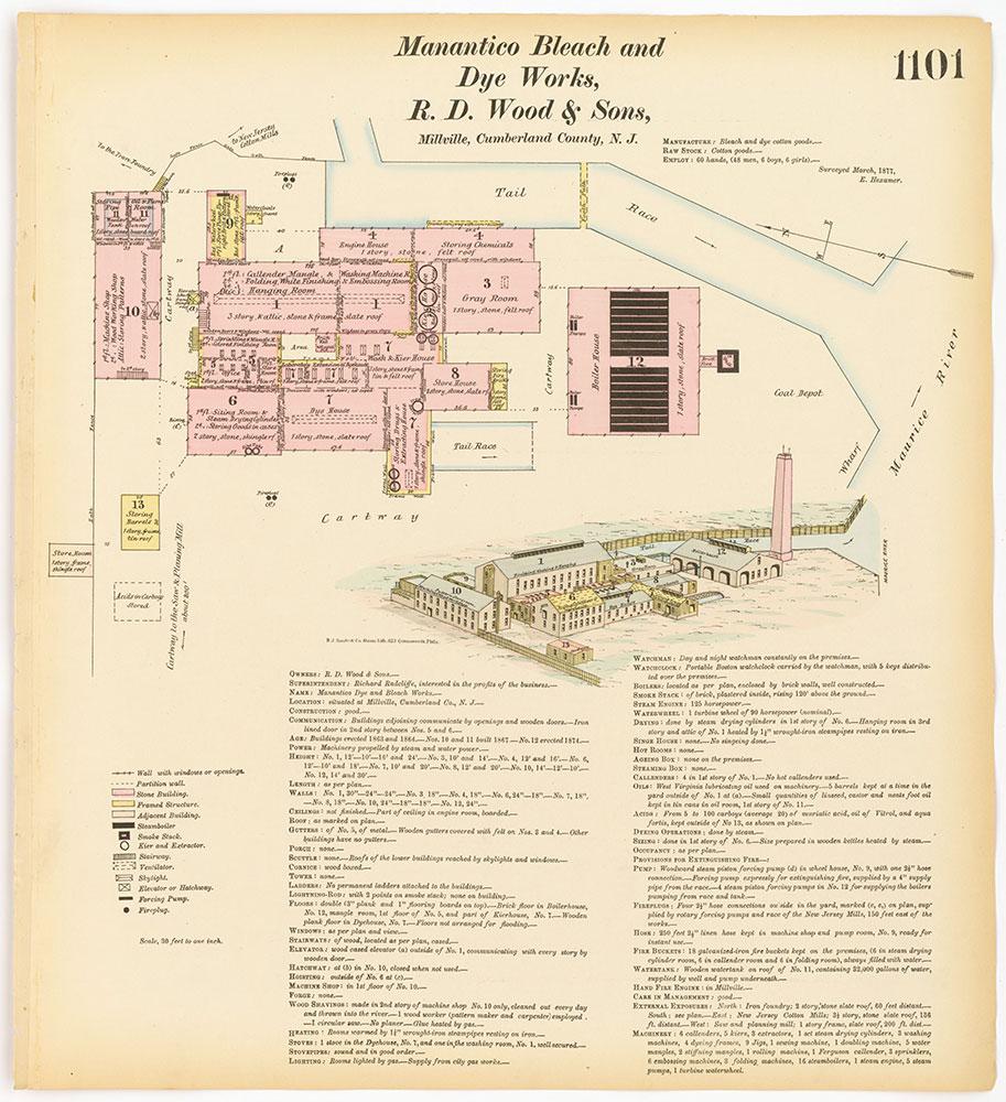 Hexamer General Surveys, Volume 12, Plate 1101