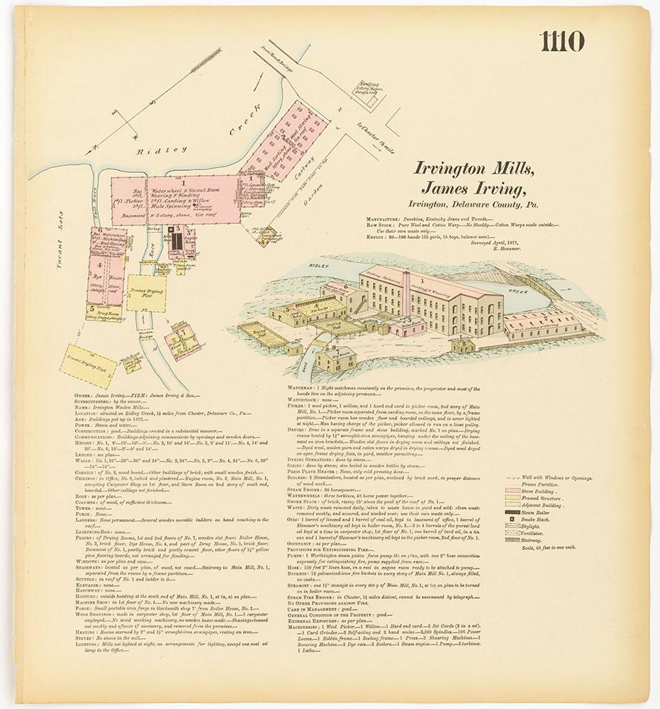 Hexamer General Surveys, Volume 12, Plate 1110