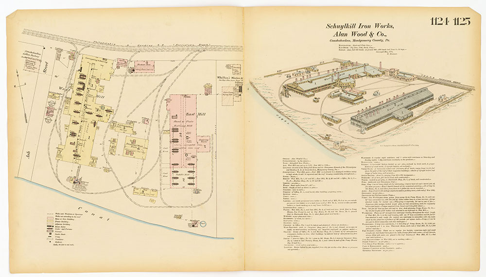 Hexamer General Surveys, Volume 12, Plates 1124-1125
