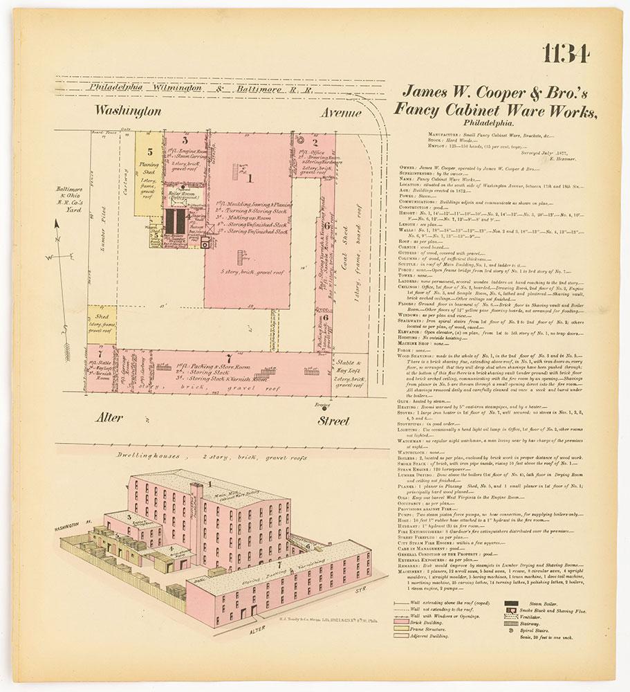 Hexamer General Surveys, Volume 12, Plate 1134
