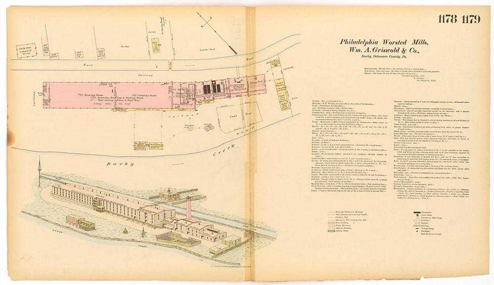 Hexamer General Surveys, Volume 13, Plates 1178-1179
