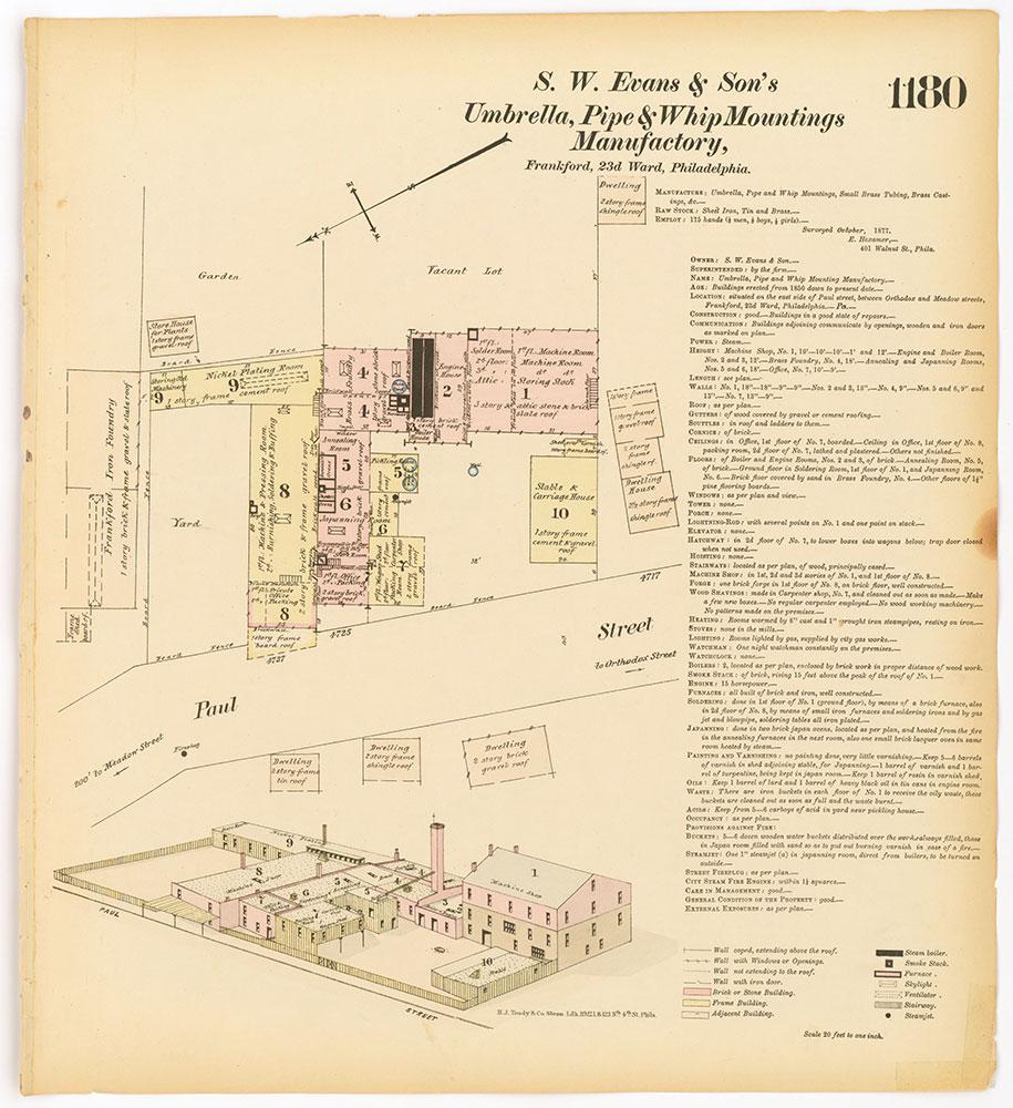 Hexamer General Surveys, Volume 13, Plate 1180
