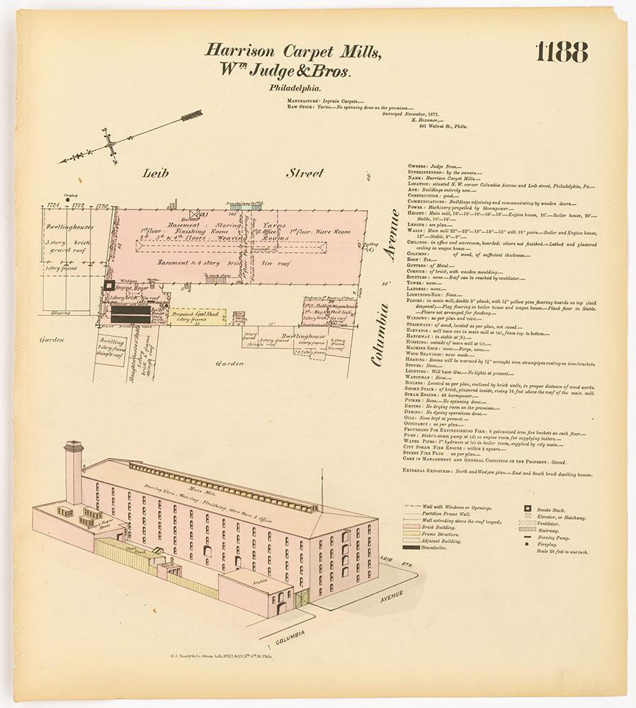 Hexamer General Surveys, Volume 13, Plate 1188