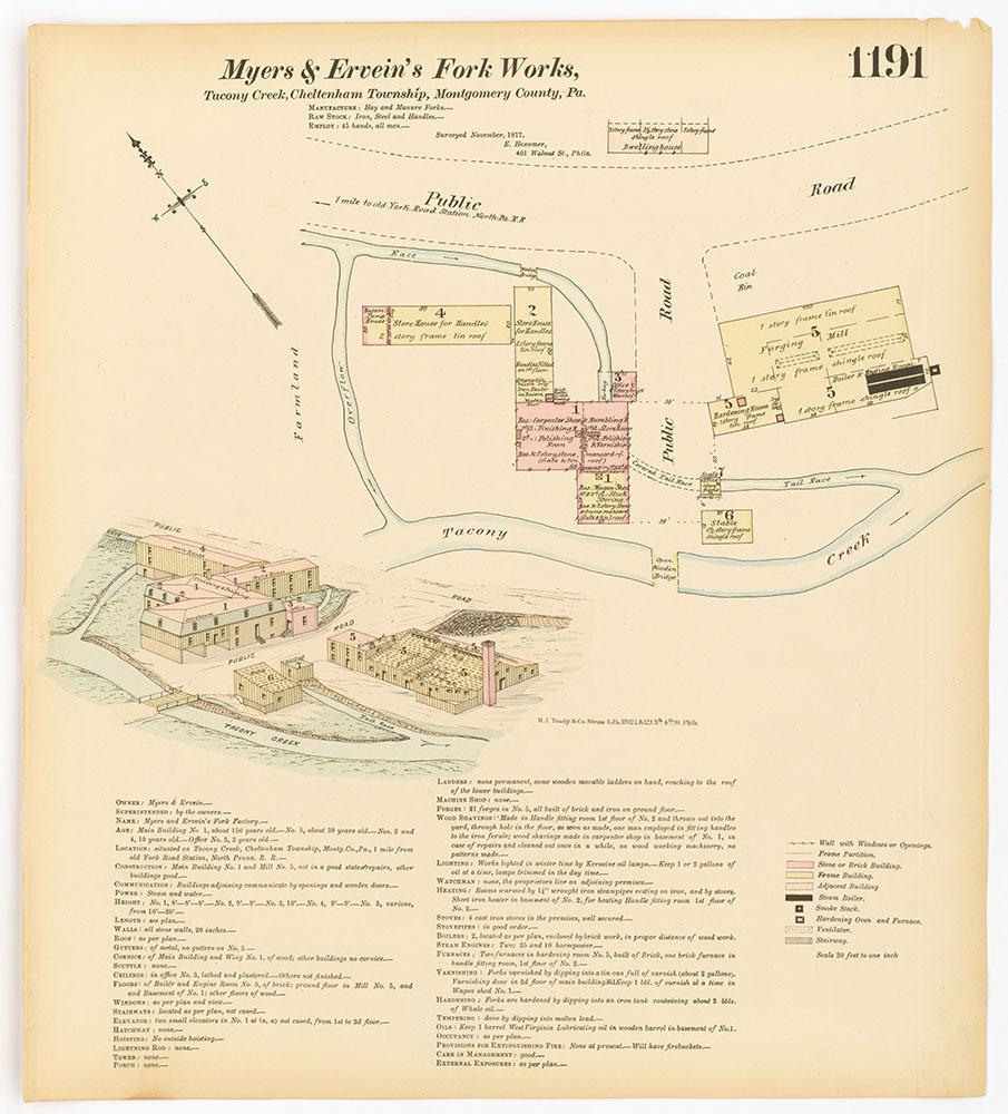 Hexamer General Surveys, Volume 13, Plate 1191