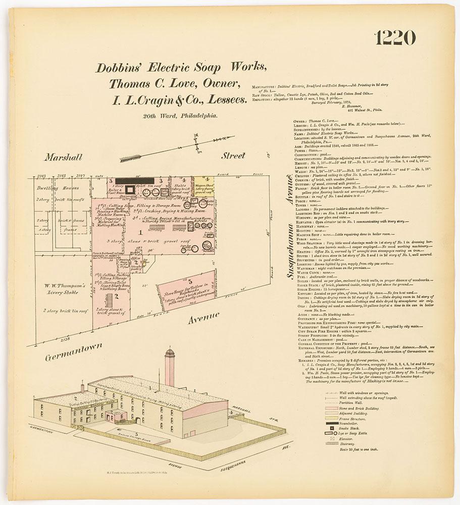 Hexamer General Surveys, Volume 13, Plate 1220