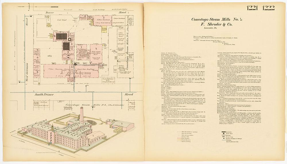 Hexamer General Surveys, Volume 13, Plates 1221-1222