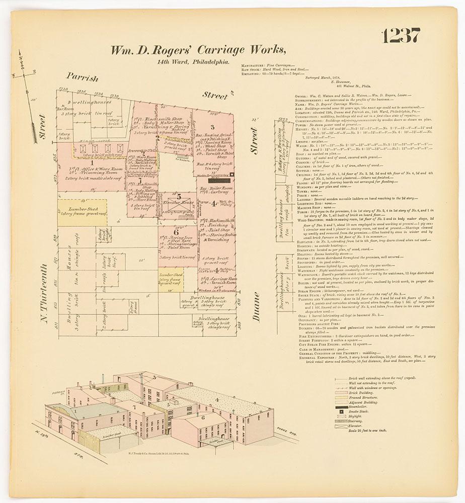 Hexamer General Surveys, Volume 13, Plate 1237