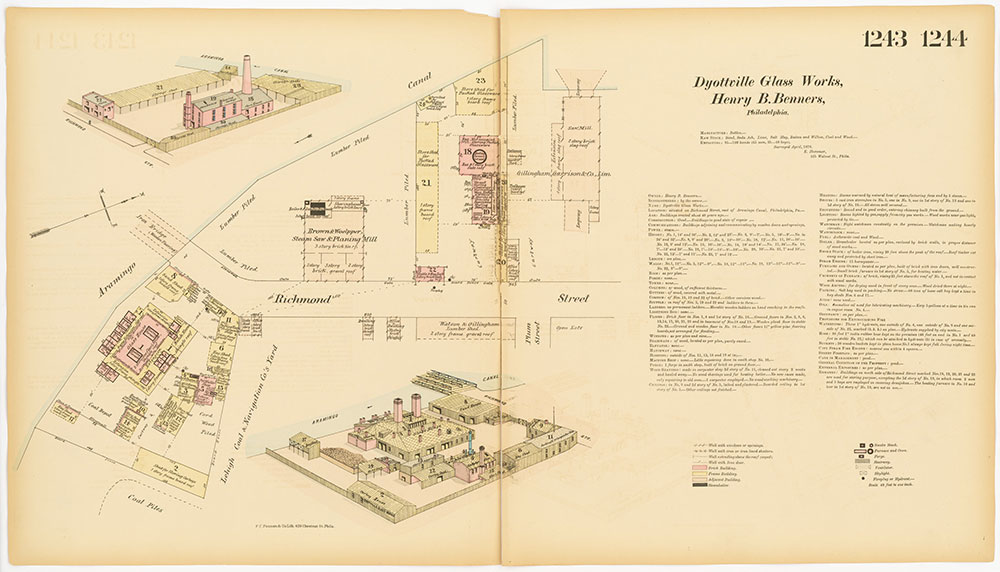 Hexamer General Surveys, Volume 13, Plates 1243-1244