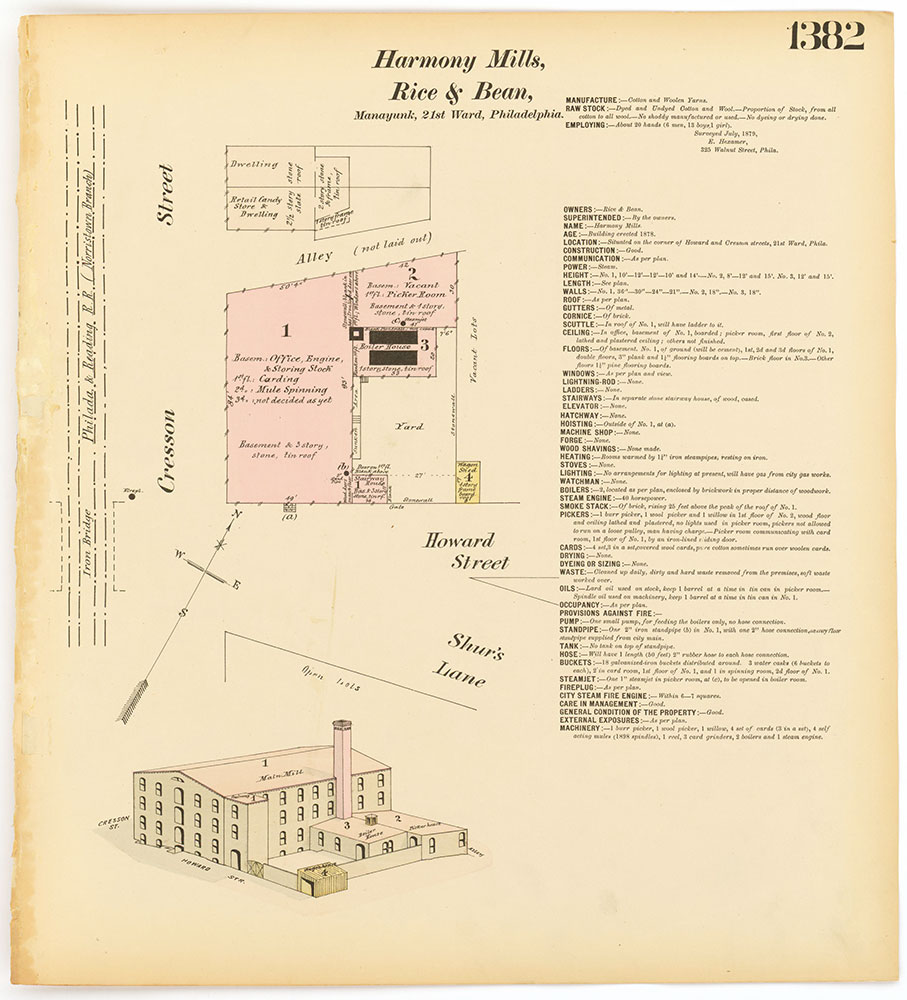 Hexamer General Surveys, Volume 15, Plate 1382