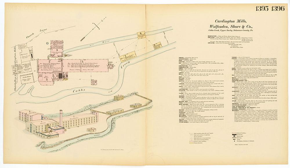 Hexamer General Surveys, Volume 15, Plates 1395-1396