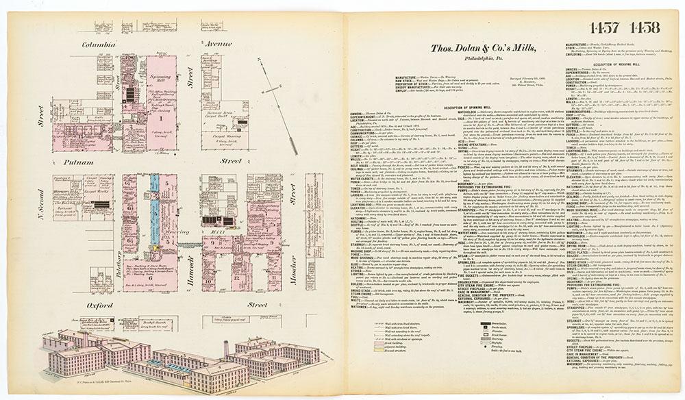 Hexamer General Surveys, Volume 16, Plates 1457-1458