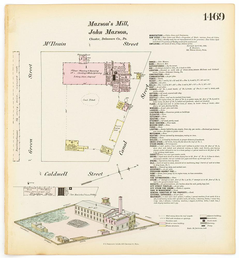 Hexamer General Surveys, Volume 16, Plate 1469