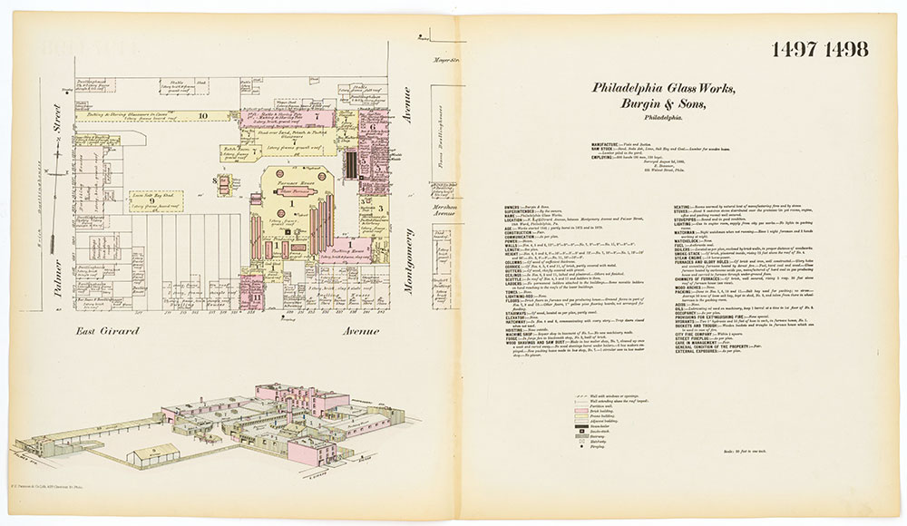 Hexamer General Surveys, Volume 16, Plates 1497-1498