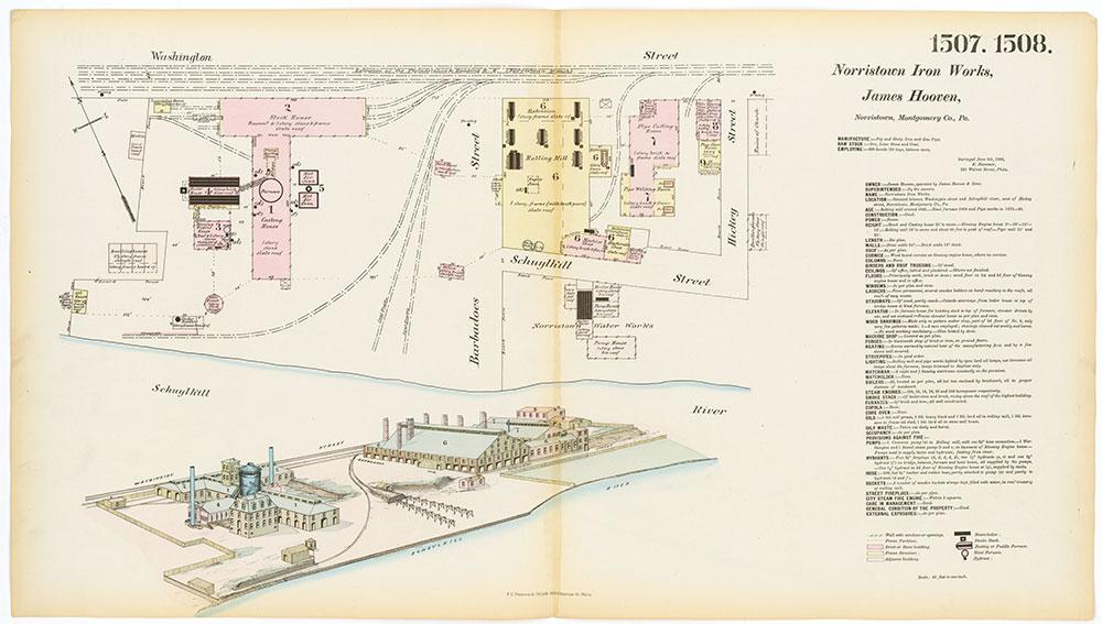Hexamer General Surveys, Volume 16, Plates 1507-1508