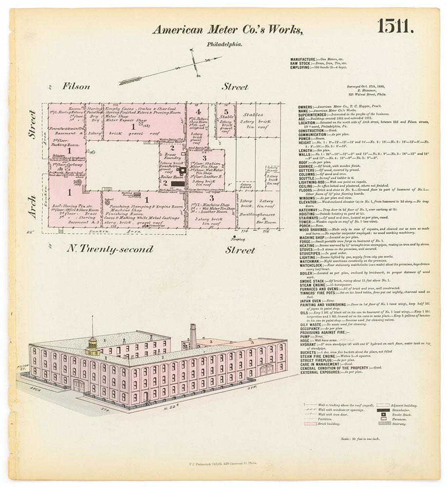 Hexamer General Surveys, Volume 16, Plate 1511