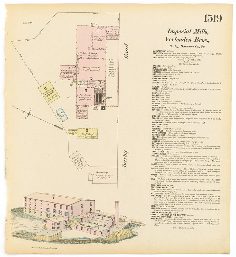 Hexamer General Surveys, Volume 16, Plate 1519