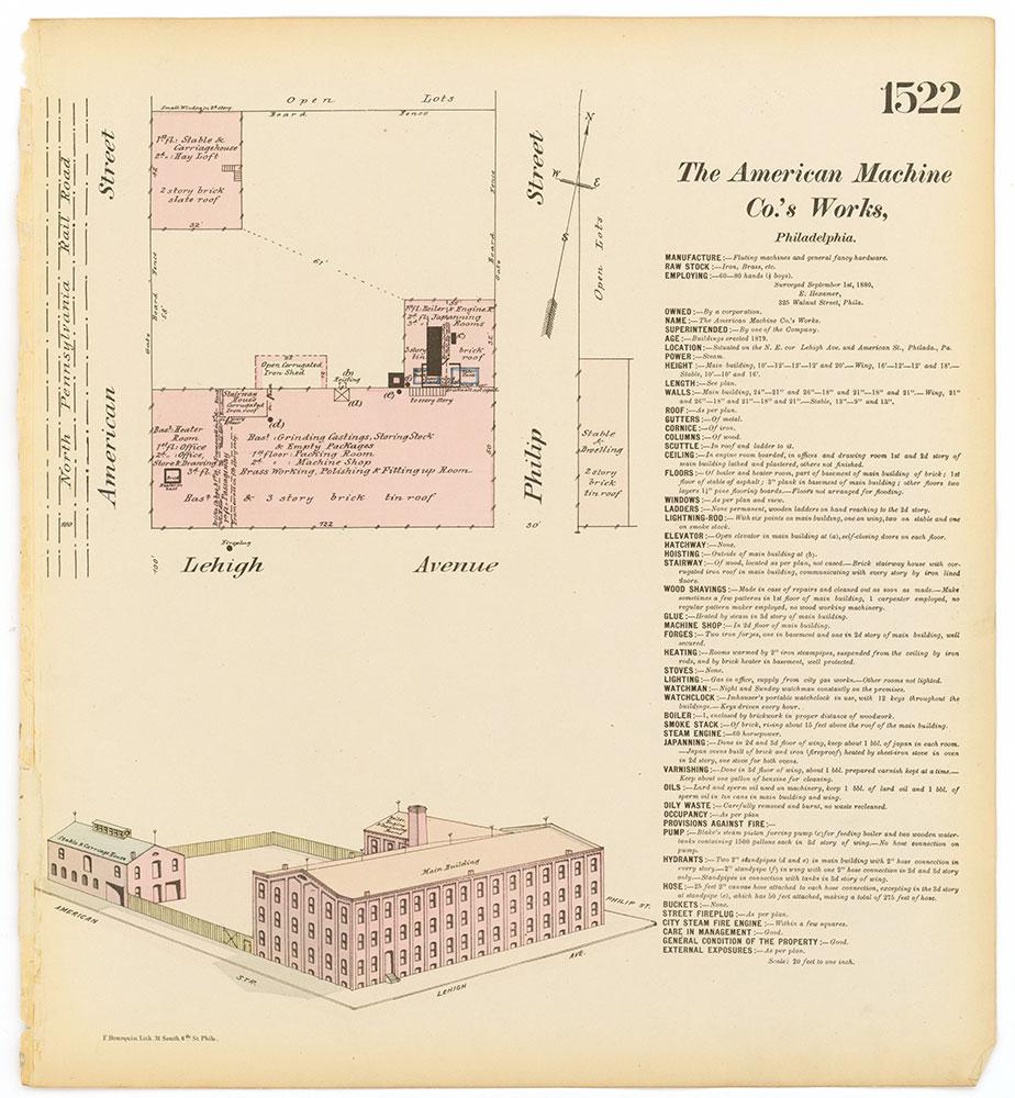 Hexamer General Surveys, Volume 16, Plate 1522