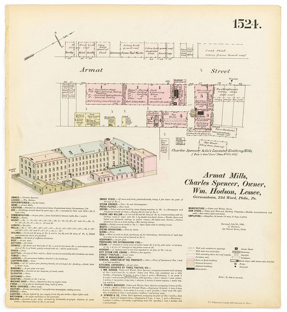 Hexamer General Surveys, Volume 16, Plate 1524