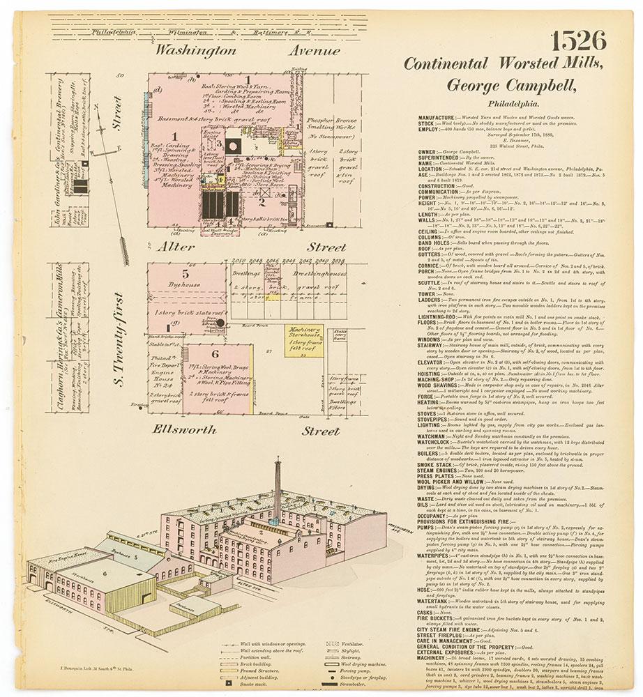 Hexamer General Surveys, Volume 16, Plate 1526
