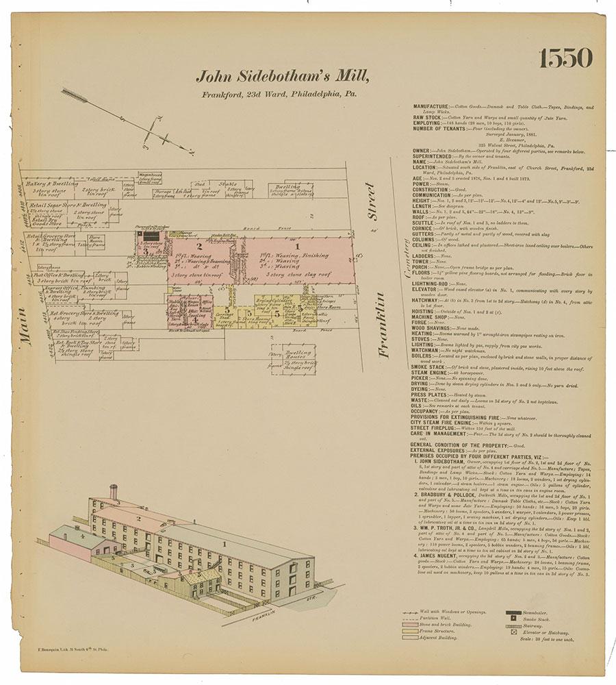 Hexamer General Surveys, Volume 16, Plate 1550