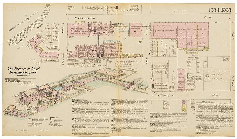 Hexamer General Surveys, Volume 16, Plates 1554-1555