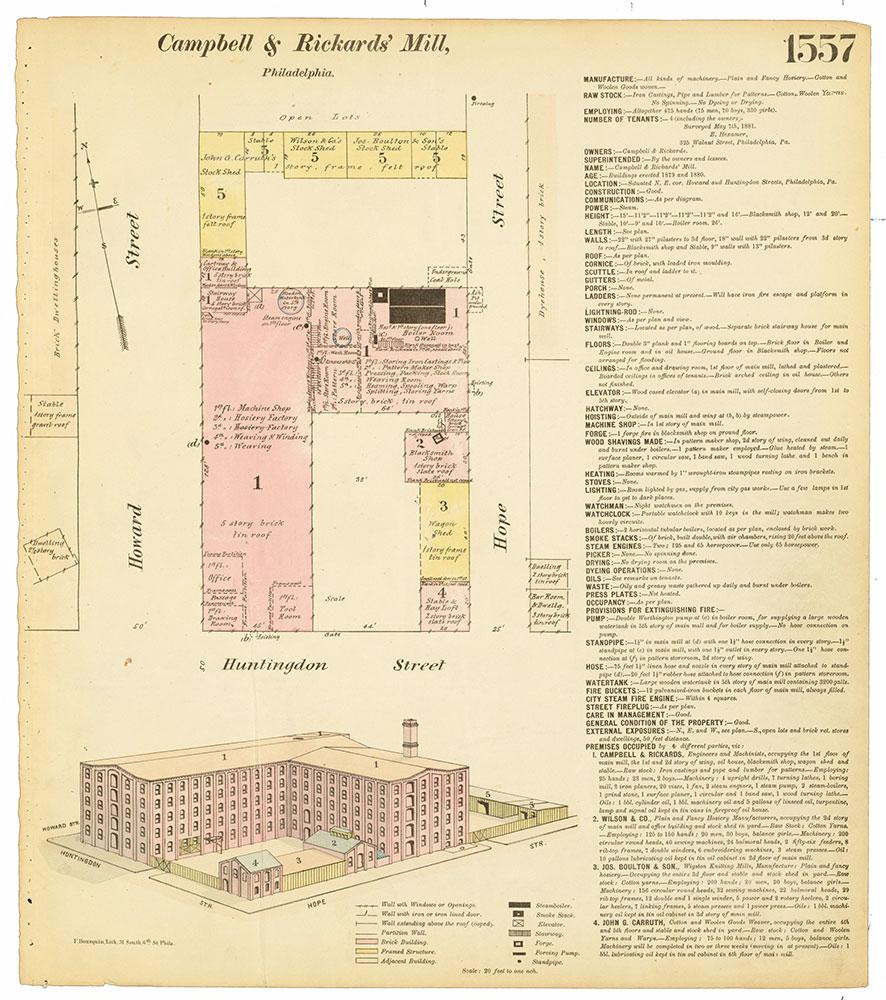 Hexamer General Surveys, Volume 17, Plate 1557