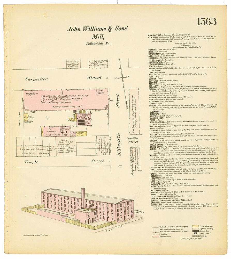 Hexamer General Surveys, Volume 17, Plate 1563