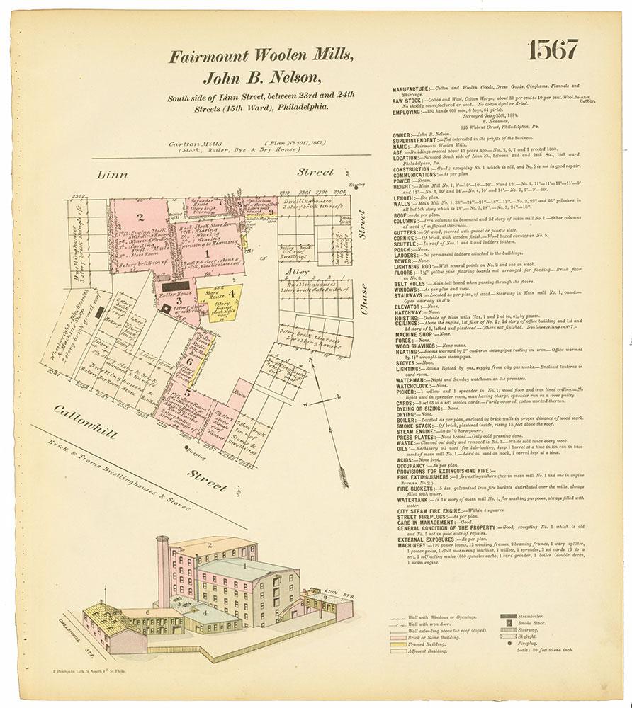 Hexamer General Surveys, Volume 17, Plate 1567