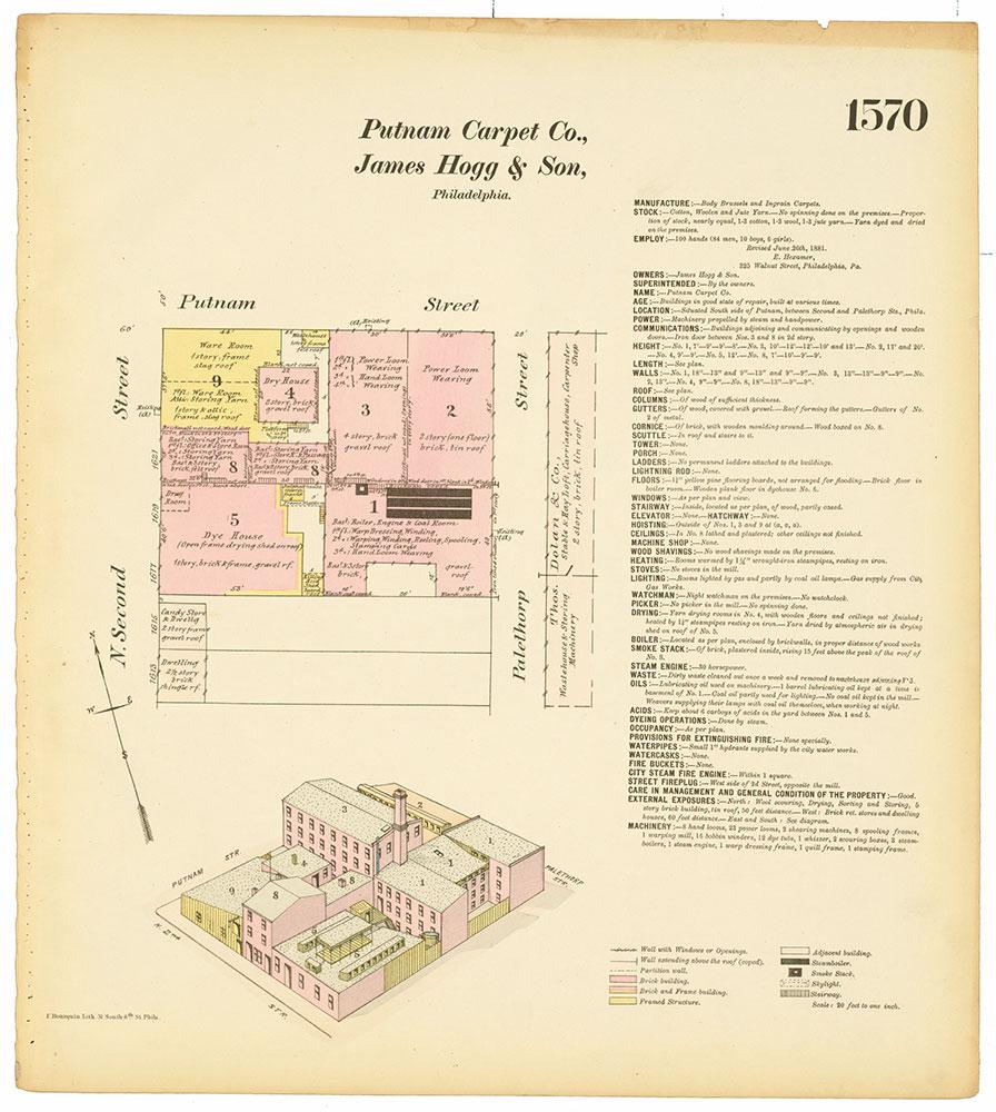 Hexamer General Surveys, Volume 17, Plate 1570
