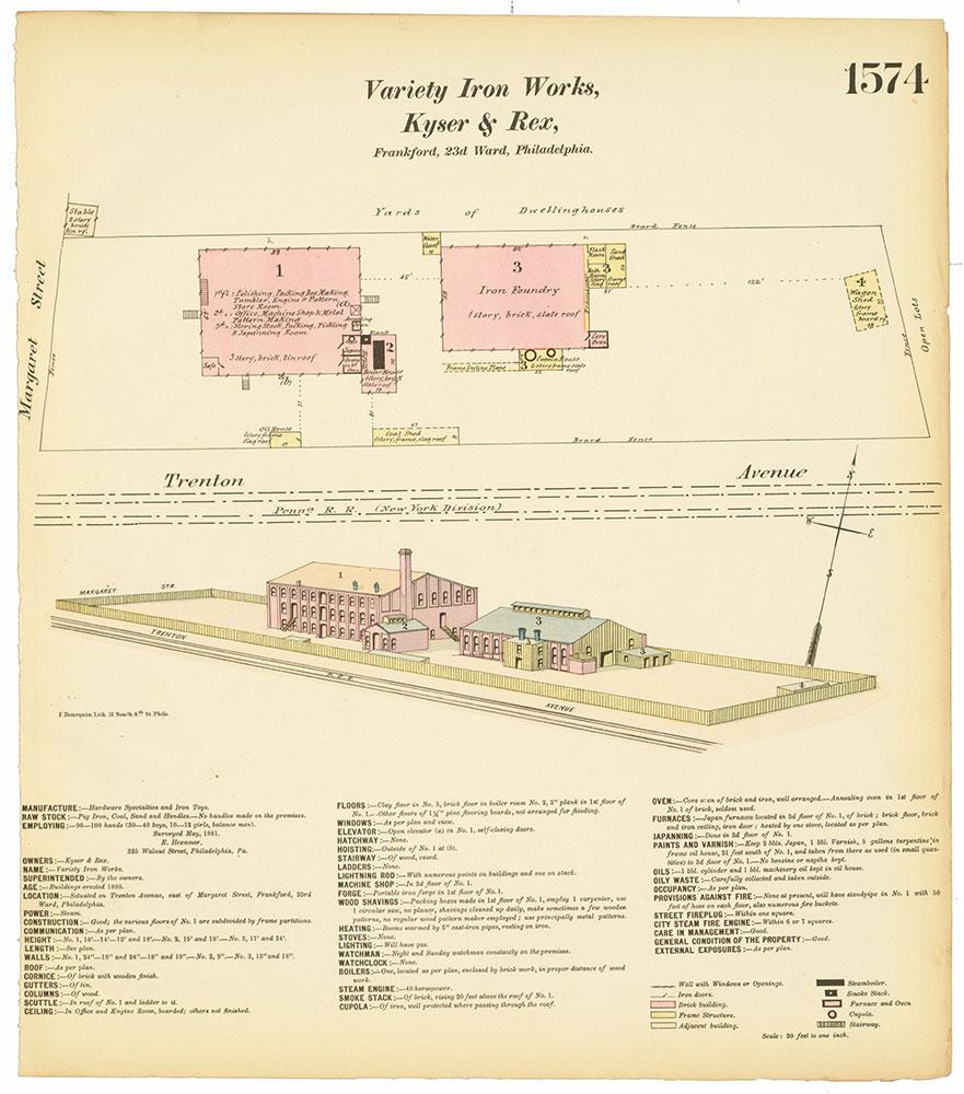 Hexamer General Surveys, Volume 17, Plate 1574