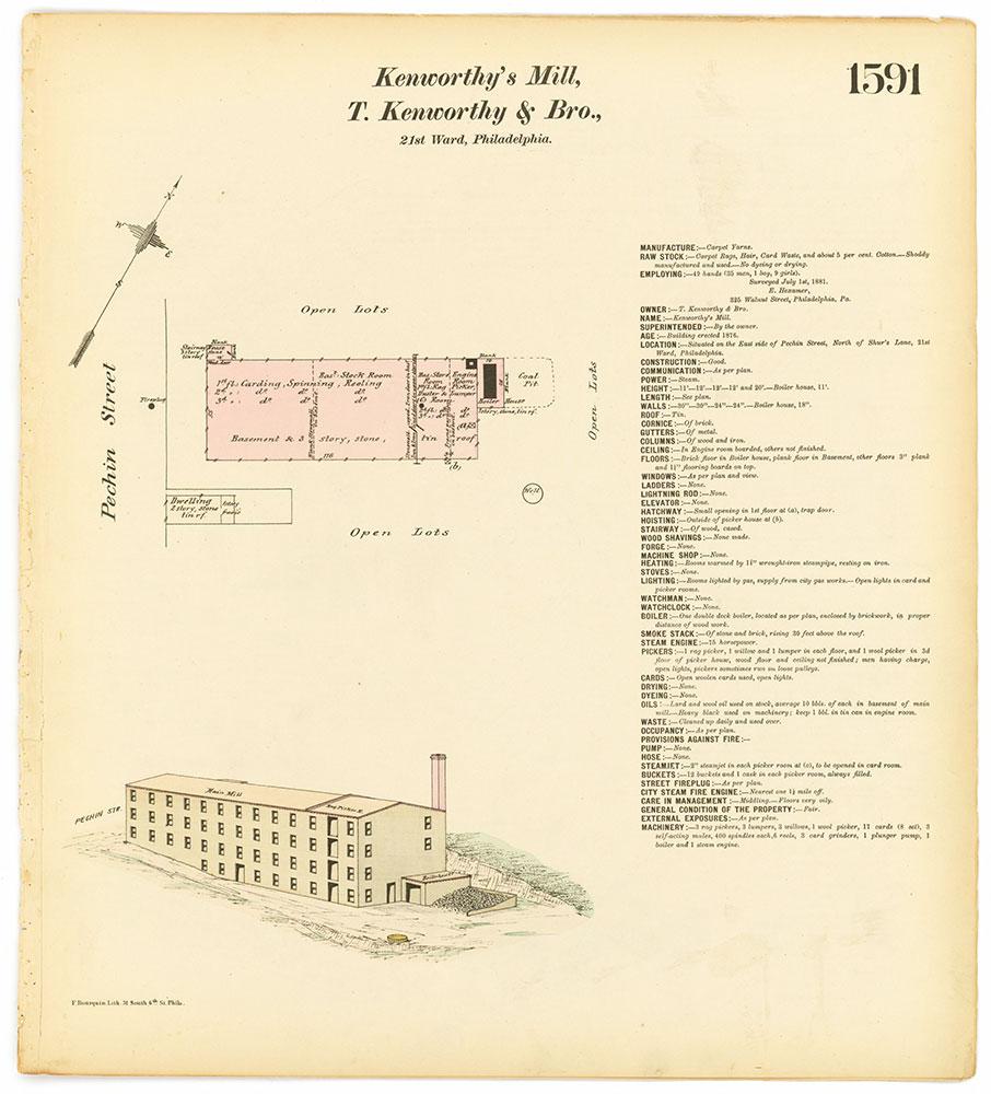 Hexamer General Surveys, Volume 17, Plate 1591