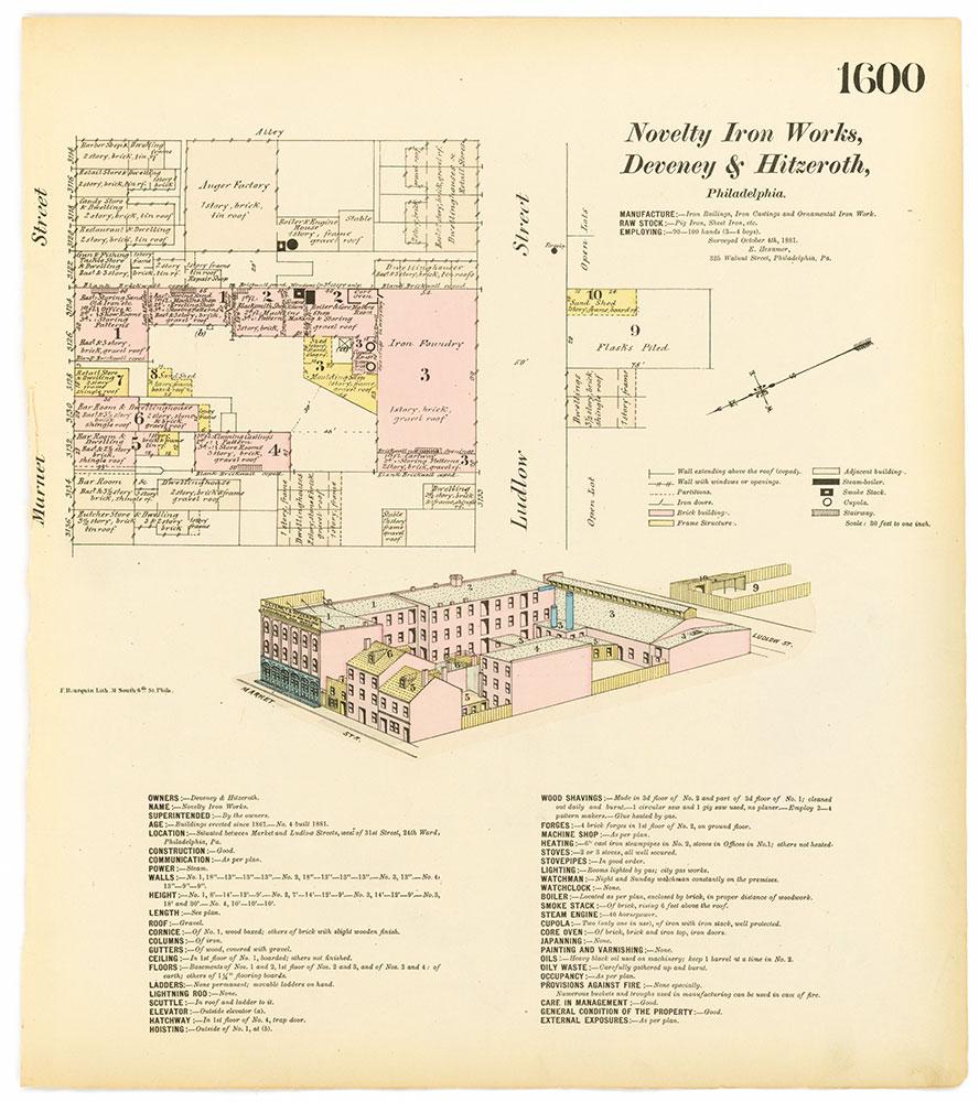 Hexamer General Surveys, Volume 17, Plate 1600