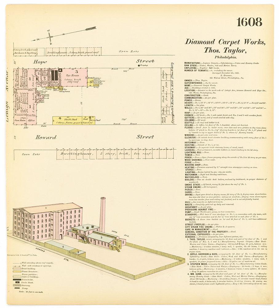 Hexamer General Surveys, Volume 17, Plate 1608