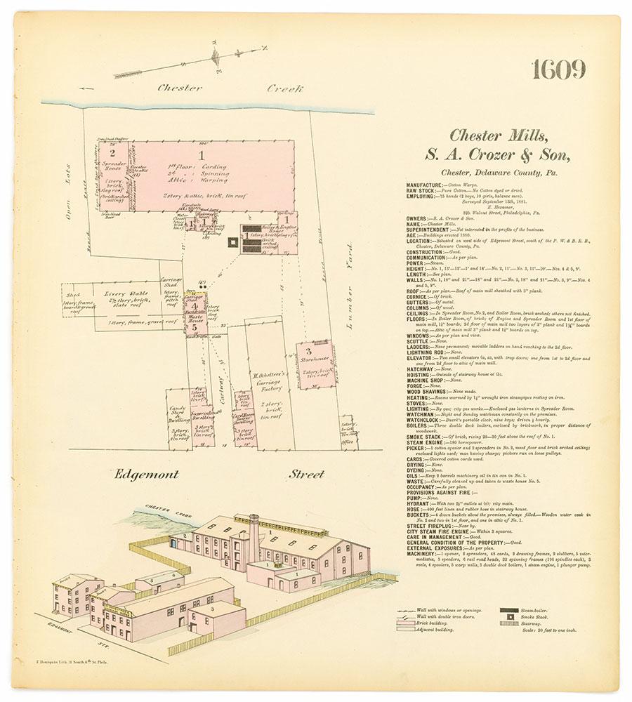 Hexamer General Surveys, Volume 17, Plate 1609