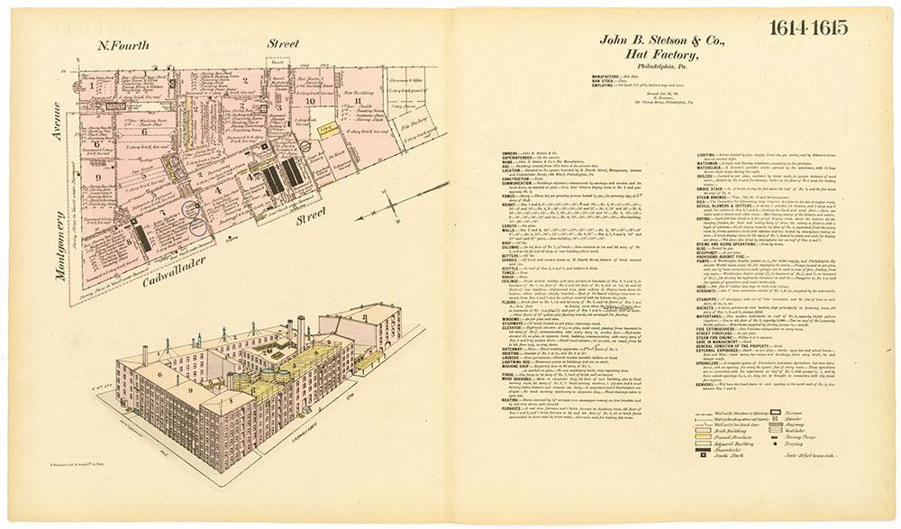 Hexamer General Surveys, Volume 17, Plates 1614-1615
